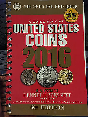 United States Coins Guide Book 2016 Red Book 69Th Edition Coin Price Guide