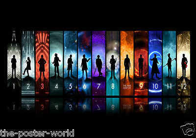 Doctor Who Tv Show Picture Poster Home Art Print Wall Decor New