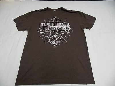 Randy Houser How Country Feels Tour 2013 t-shirt Large