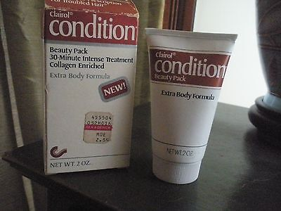 Vintage Clairol Condition Beauty Pack 2Oz. 30 Min   Nos