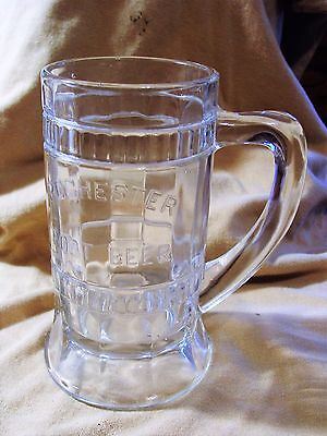 Vintage Rochester Root Beer With Embossed Lettering Mug