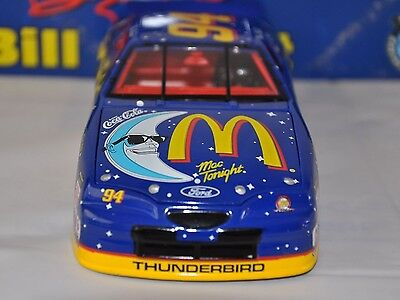 Bill Elliott #94 Mac Tonight 1/24 Scale NASCAR 1997 Winston Cup Diecast