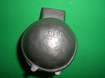 Antique Ice Cream Mold Butter Mold Candy Mold Pewter Mold BALL SPHERE