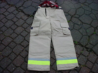 Bristol New Old Stock Turnout Pants Fireman Firefighter Fire Dept 042317-