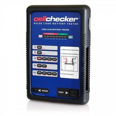 SDI Solo CELL03 Cell Checker Pulse Load Lead Acid Battery Tester Brand New!