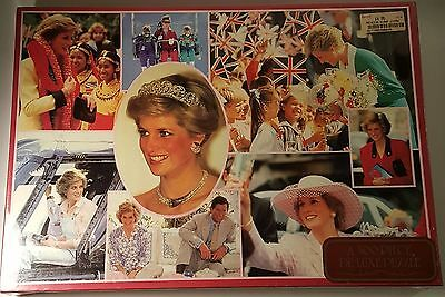 DIANA H.R.H. THE PRINCESS OF WALES 500 Pc Jigsaw Puzzle New Unopened Harrods !!!