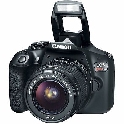 Memorial Day Deal Sale Canon Eos Rebel T6 Dslr Camera + 18-55mm IS II Lens