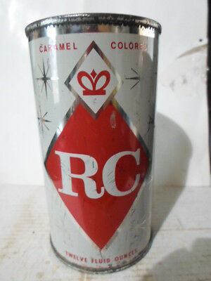 Royal Crown Cola Flat Top Soda Can / Pop Can