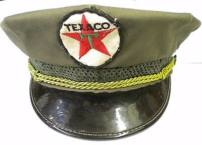 Texaco Service Station Gas Attendant Hat
