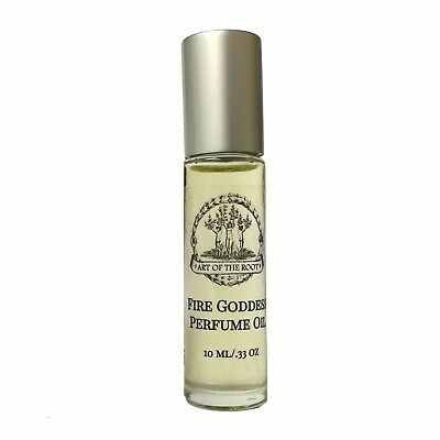 Fire Goddess Perfume Passion Manifestation Confidence Power Wiccan Pagan Hoodoo