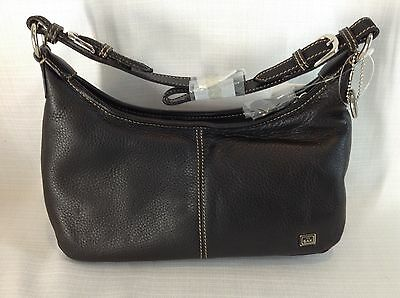 The SAK Black Leather Hobo Shoulder Bag Purse ****NWT****