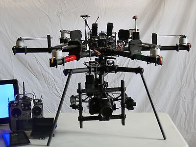 FreeFly Cinestar 6 Professional UAV Drone with MoVI M10 camera gimbal.