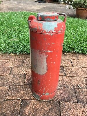 Vintage Simplex Brass Fire Extinguisher. Copper