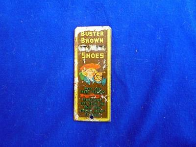Vintage Buster Brown Tin Litho  Whistle Poor Condition