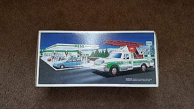 Hess 1994 Toy Rescue Truck In Original Box.