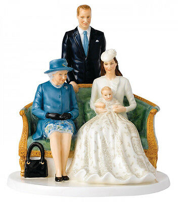 Royal Doulton Her Majesty Royal Christening NH5809 Queen Elizabeth 90th Birthday