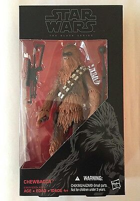 "CHEWBACCA - Star Wars Black Series 6"" The Force Awakens Figure W1 - IN STOCK"
