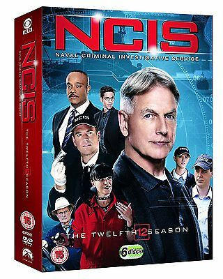NCIS - Season 12 [DVD] [2016] Complete Twelfth Series BRAND NEW REGION 2 SEALED