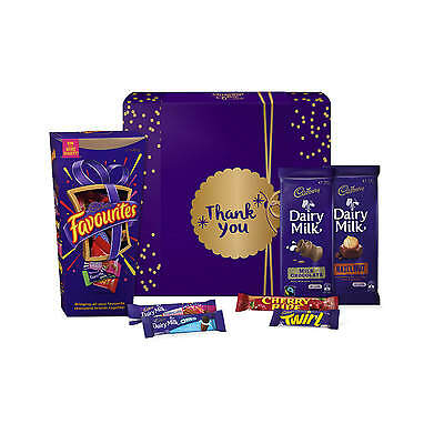 NEW Cadbury Favourites Chocolate Gift Hamper - Sml - Thank You