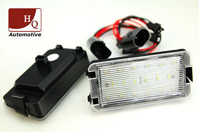 Seat License Licence Number Plate LED Lamp Light