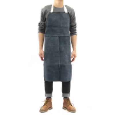 Welder Apron Heat Insulation Cow Leather cowhide Welding Protect Apron 60x90cm