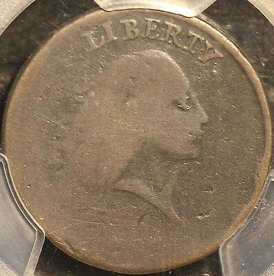 "Very Nice & Rare 1793 S-4 ""with Periods"" Chain Cent, Pcgs Ag3, 3-Day Return"