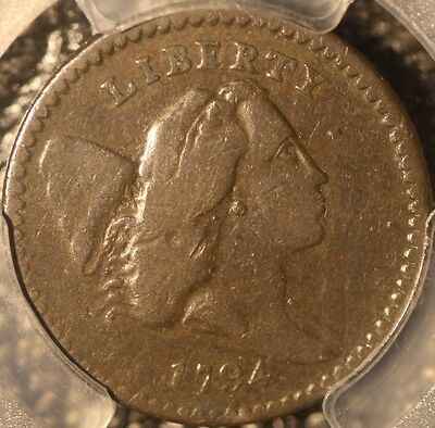 Rare 1794 Half Cent, C9-R2 High Relief Head Variety, Pcgs F12, 3-Day Return
