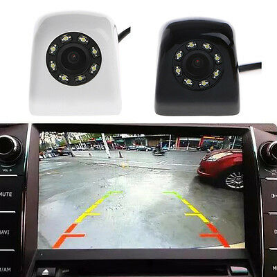 Waterproof CCD HD 140° Wide Angle Car Rearview Camera 8 LED Reversing NTSC