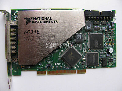 NATIONAL INSTRUMENTS NI PCI-6034E data acquisition card