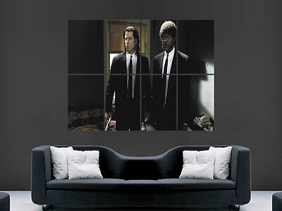 Pulp Fiction Classic Movie  Art Wall Large Image Giant Poster