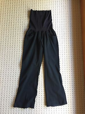 Black maternity trousers size 8-10