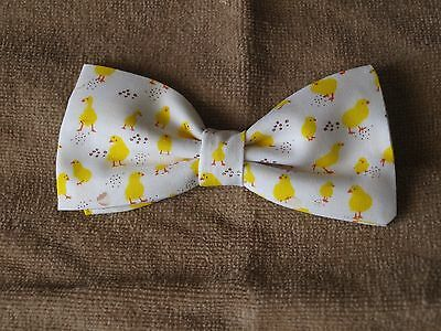 Homemade Boys  Clip on Bow Tie ****Chicks****
