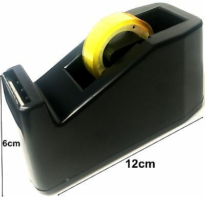 Heavy Duty Mini Small Desktop Office Sello Weight Sticky Tape Dispenser Holder
