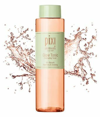 Pixi Glow Tonic Exfoliating Toner With Aloe Vera & Ginseng *Choose Your Size*