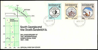 South Georgia 1984 Geophysical Year FDC First Day Cover #C38376