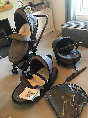 Silver Cross Surf Complete System Pram And Pushchair Excellent Condition