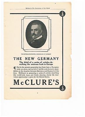 Vintage 1909 Advertisement - The New Germany  (#11)