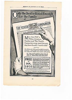 Vintage 1909 Advertisement -  The Youth's Companion (#7)