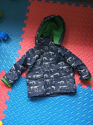 Great waterproof baby boy jacket size 6-12 NEW! Life and legend.