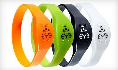 THEYE EYE Mosquito Repellent Band Waterproof Small 180mm White Travel Camping UK