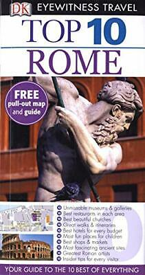 DK Eyewitness Top 10 Travel Guide: Rome by Kennedy, Jeffrey Paperback Book The