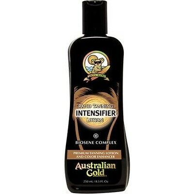 Australian Gold Rapid Tanning INTENSIFIER LOTION 250ml/8.5Oz