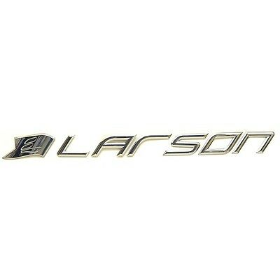 Larson Boat Side Decal 8624-3131 | Mirrored Plastic 34 x 2 3/4 Inch