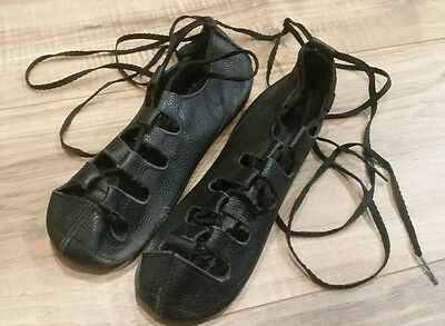 Antonio Pacelli Looped Ghillies Soft Irish Dance Shoes 2 1/2