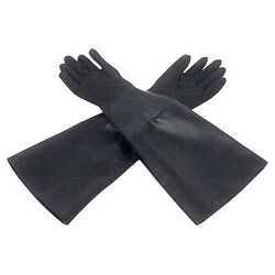"ALC Keysco 40248 24"" x 6"" Cloth Lined Sandblaster Gloves"