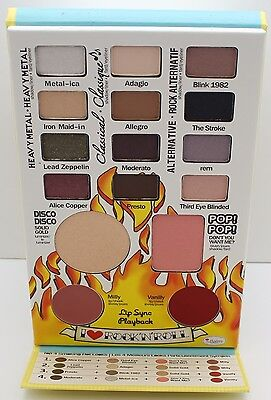 The Balm Cosmetics Rockstar Face Palette -Eyeshadow,Luminizer,Blush,Lip/Cheek