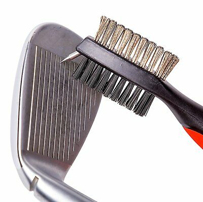 Paragon Golf Brush Master Club Cleaner with Divot Groove Spike Tool