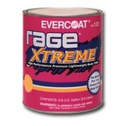 Fibreglass Evercoat 120 Rage Extreme Premium Lightweight Body Filler, Gallon