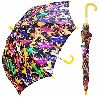"32"" Children Kid Race Car Umbrella - RainStoppers Rain/Sun UV"