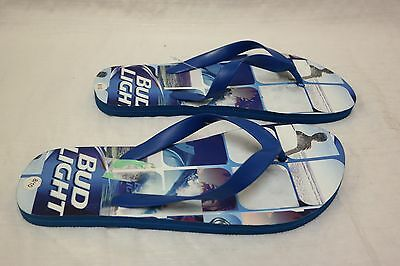 3c411ee41480 MENS BUD LIGHT Sandals Flip Flop Bud Men s Sizes Beach Sandals 2 ...